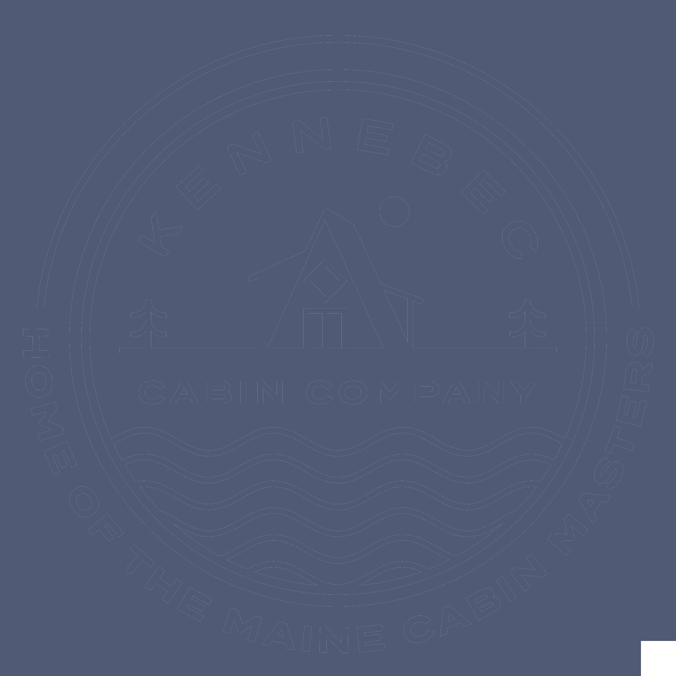 Kennebec Cabin Company Logo